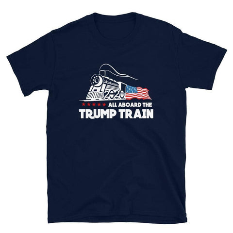 All Aboard The Trump Train T-Shirt-Trump Rack