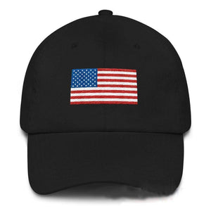 American Flag Hat-Trump Rack