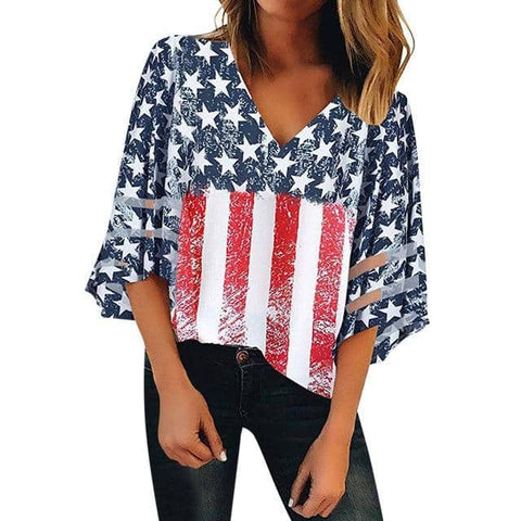 American Flag T-Shirt-Trump Rack
