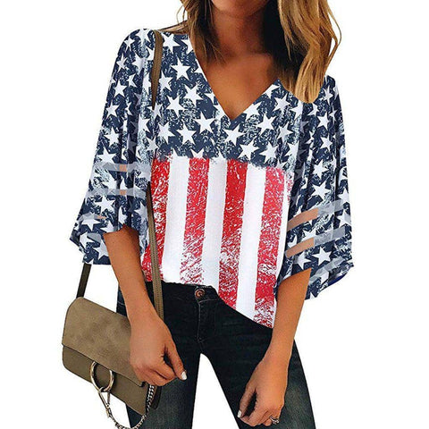 Image of American Flag T-Shirt-Trump Rack
