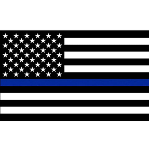 Image of Blue Lives Matter Flag-Trump Rack