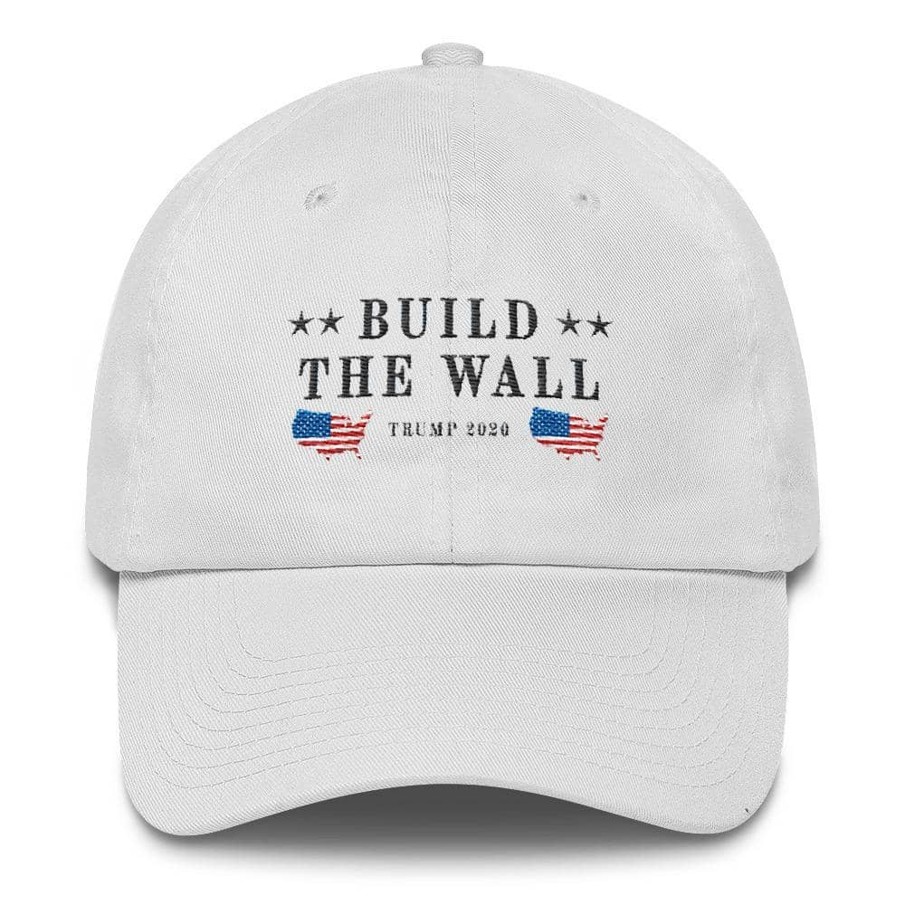 Build The Wall Hat-Trump Rack