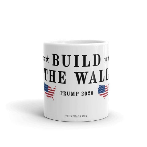 Image of Build The Wall Mug-Trump Rack