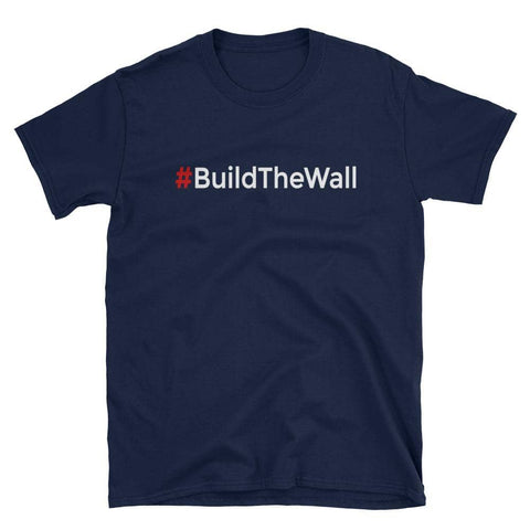 #BuildTheWall T-Shirt-Trump Rack