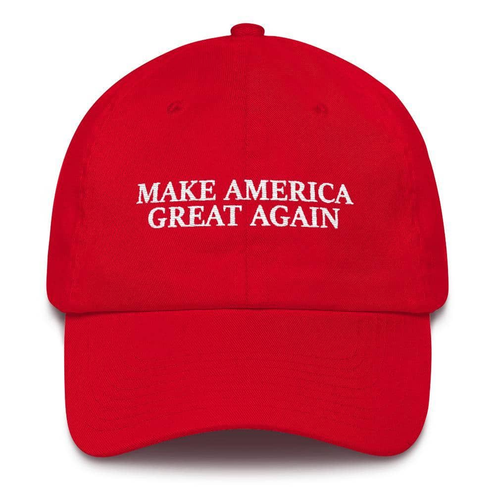 Custom Maga Hat-Trump Rack