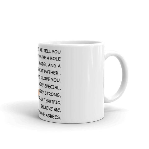 Image of Dad, Let Me Tell You Something! You Are A Great Father! Everyone Agrees Coffee Mug-Trump Rack