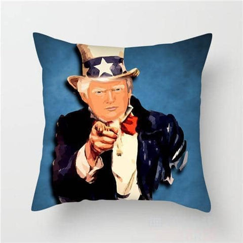 Donald Trump Pillow Covers-Trump Rack