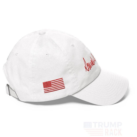 Donald Trump Signature Hat-Trump Rack