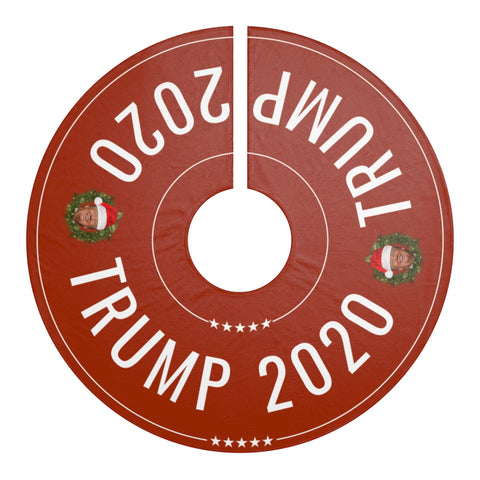 Trump 2020 Christmas Tree Skirt
