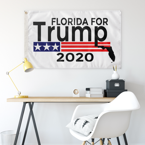 Florida for Trump Flag-Trump Rack