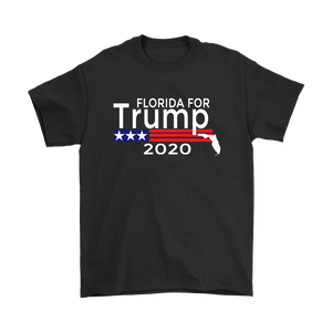 Florida For Trump Mens T-Shirt-Trump Rack