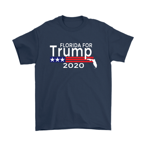 Image of Florida For Trump Mens T-Shirt-Trump Rack