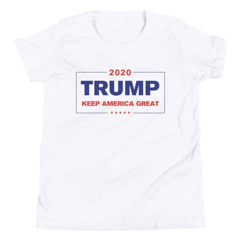 Keep America Great Youth T-Shirt-Trump Rack
