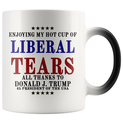 Image of Liberal Tears Magic Mug-Trump Rack