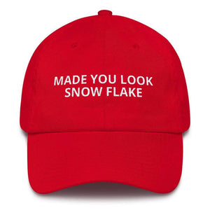 Made You Look Snow Flake Hat-Trump Rack