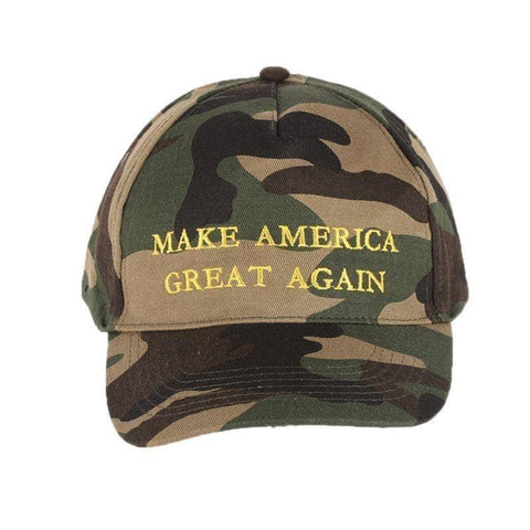 Image of MAGA Camo Hat-Trump Rack
