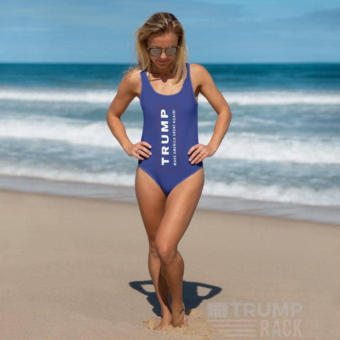 Make America Great Again Women's One-Piece Swimsuit-Trump Rack