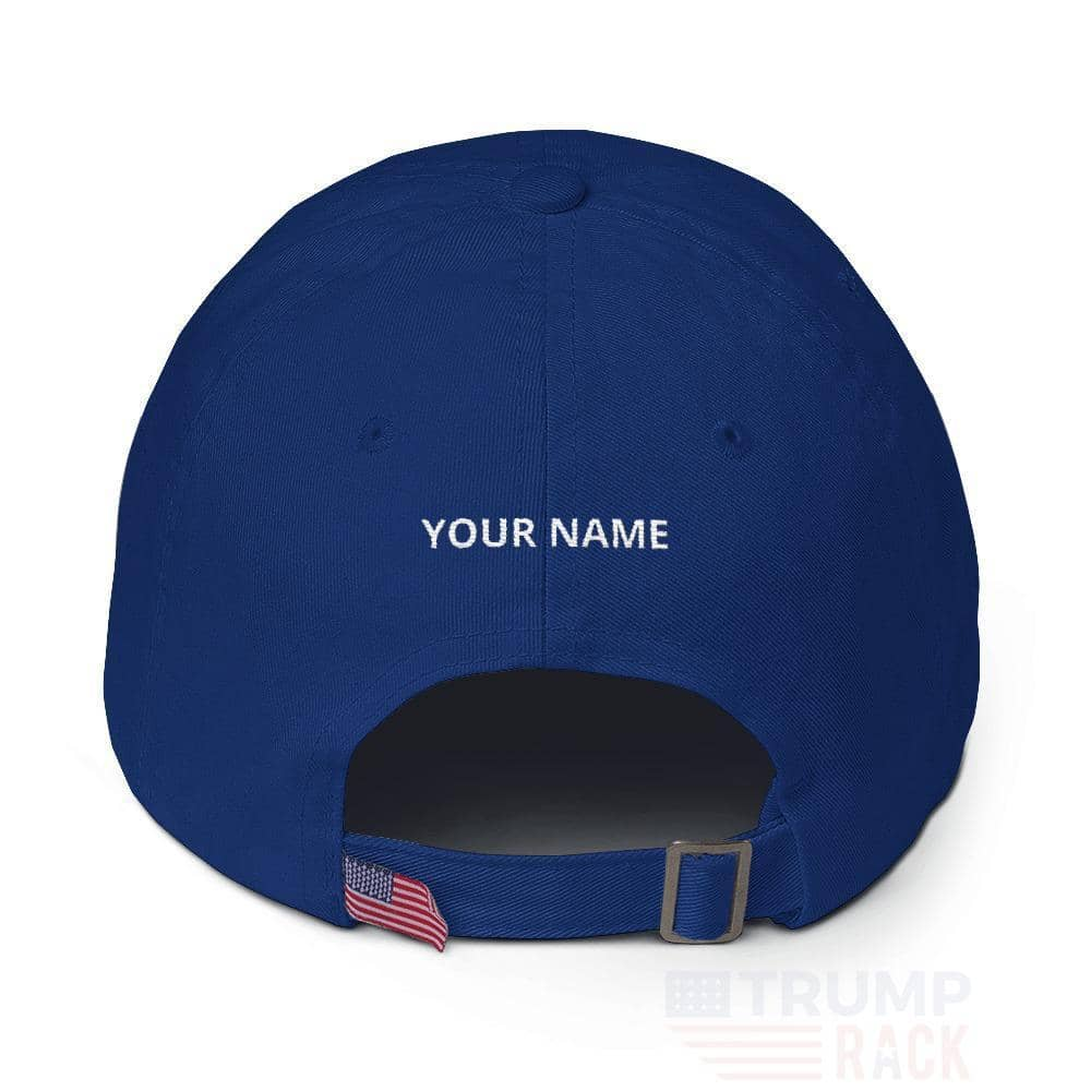 Make Men Strong Again Customizable Hat-Trump Rack