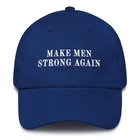 Image of Make Men Strong Again Customizable Hat-Trump Rack