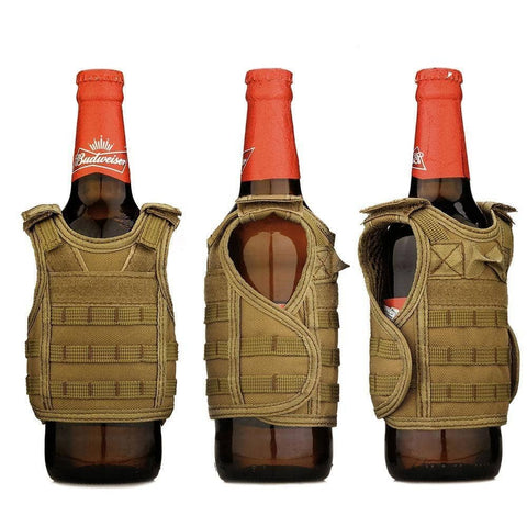 Image of Mini Tactical Vest Beer Koozie-Trump Rack