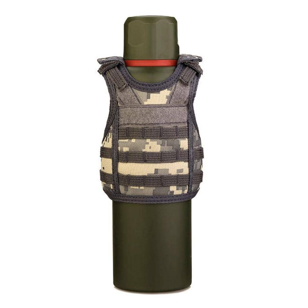 Mini Tactical Vest Beer Koozie-Trump Rack