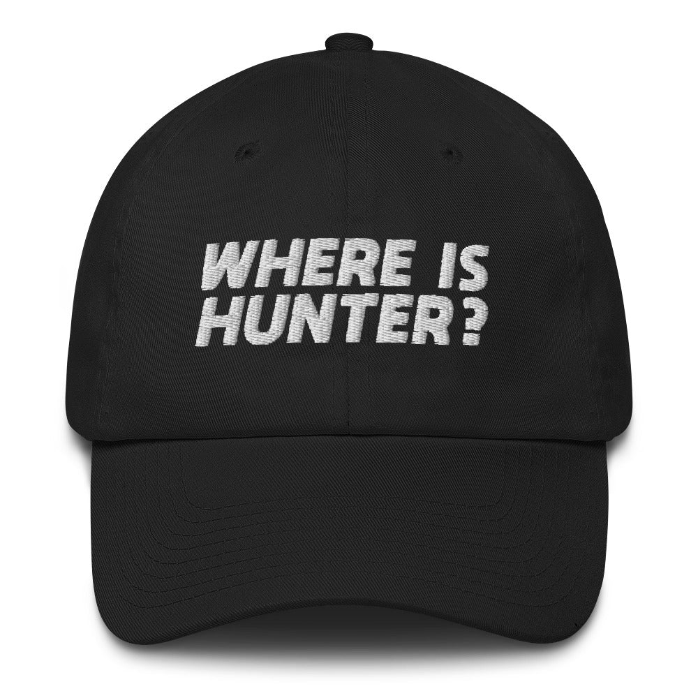 Where Is Hunter? Cap