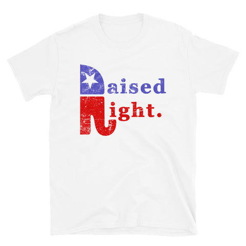 Image of Raised Right Unisex T-Shirt