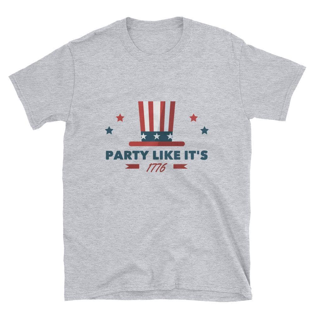 Party Like It's 1776 T-Shirt-Trump Rack