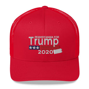Pennsylvania For Trump Trucker Cap-Trump Rack