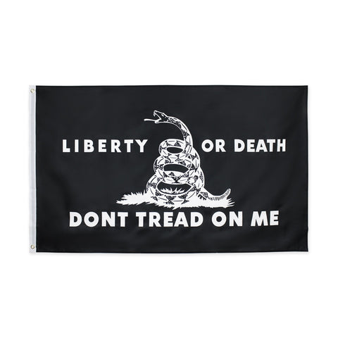 Liberty Or Death Don't Tread On Me Flag
