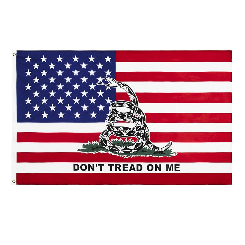 Dont Tread On Me American Flag