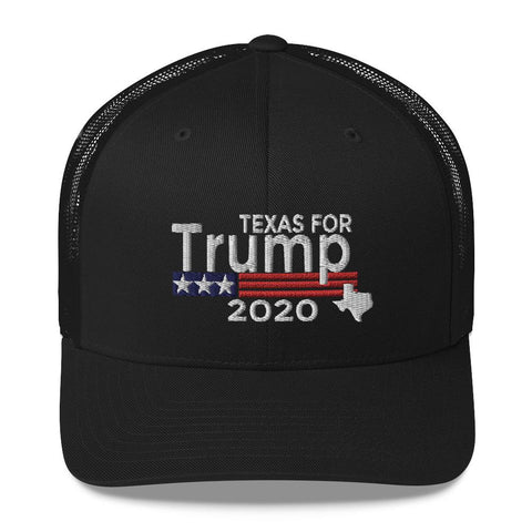 Image of Texas For Trump Trucker Cap-Trump Rack