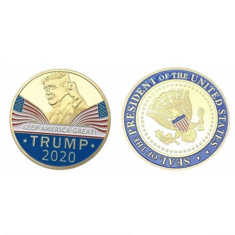 Image of Trump 2020 Collectible Coin-Trump Rack