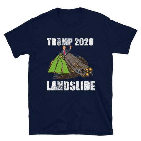 Image of Trump 2020 Landslide Short-Sleeve Unisex T-Shirt-Trump Rack