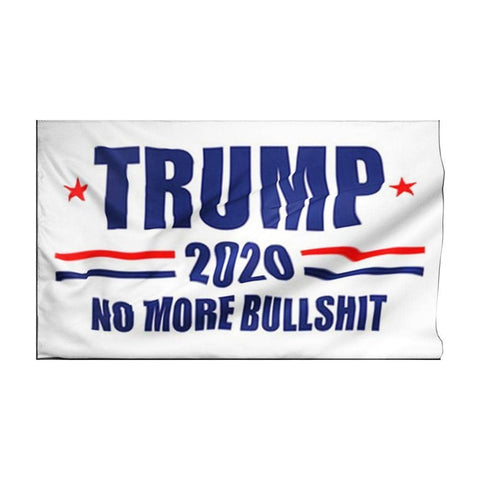 Image of Trump 2020 No More Bullshit-Trump Rack