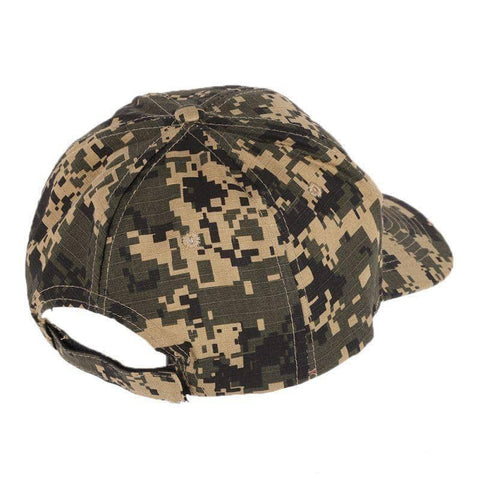 Image of Trump 2020 Woodland Digital Camo Hat-Trump Rack