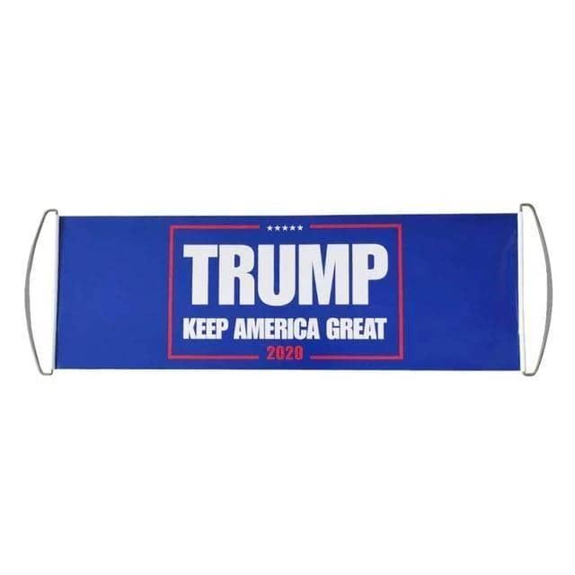 Trump Handheld Retractable Banner-Trump Rack