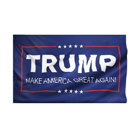 Image of TRUMP MAGA Flag-Trump Rack