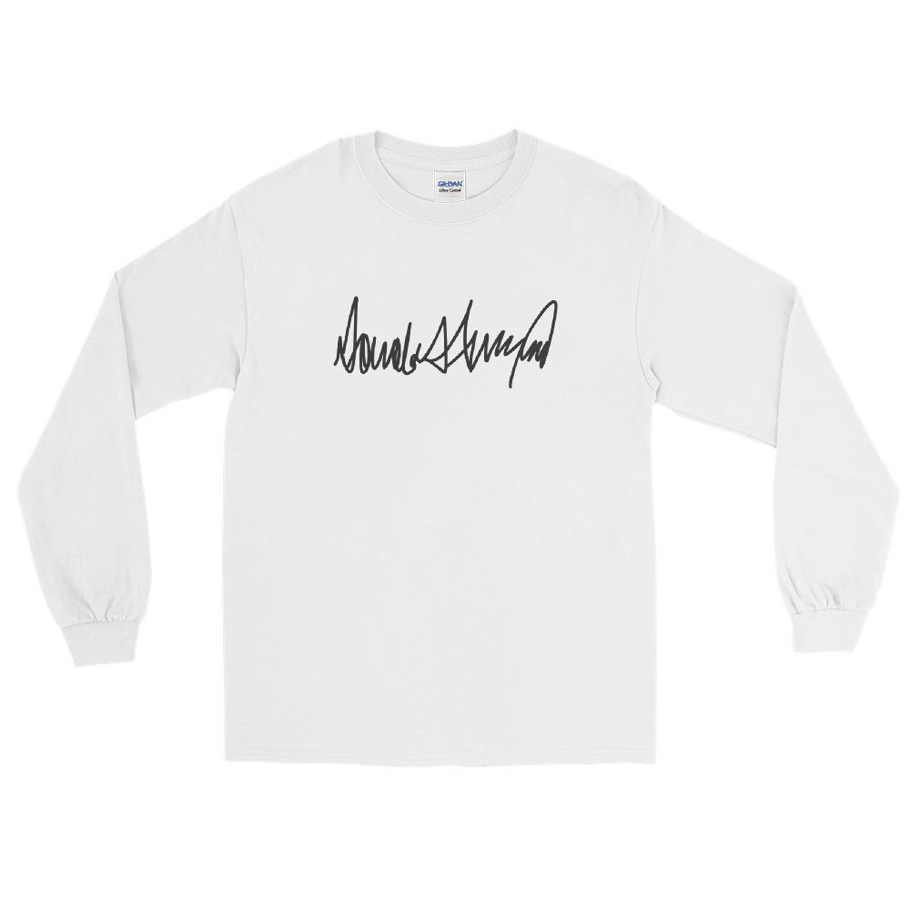 Trump Signature Long Sleeve Shirt-Trump Rack