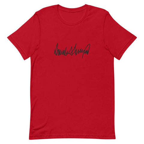 Trump Signature Unisex T-Shirt-Trump Rack