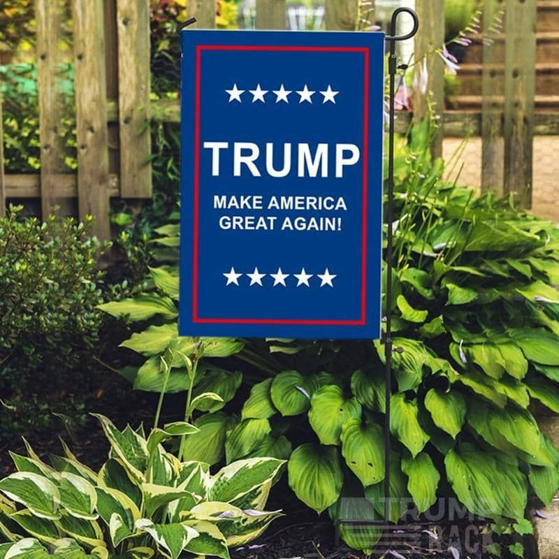 Trump Yard Flag Sign-Trump Rack