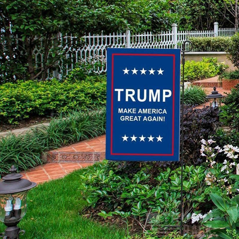 Image of Trump Yard Flag Sign-Trump Rack