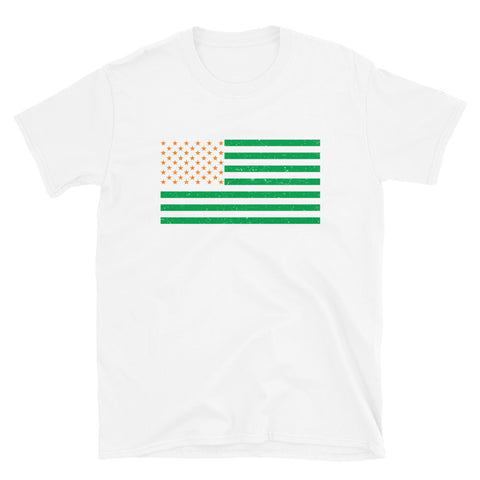 St. Patrick's Day American Flag T-Shirt