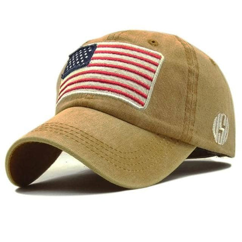 USA Flag Baseball Cap-Trump Rack