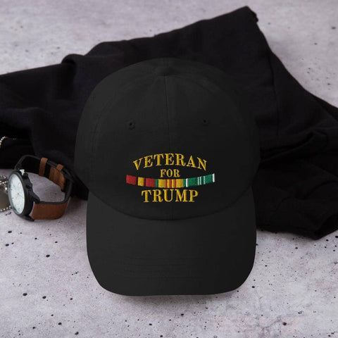 Veteran For Trump Hat-Trump Rack