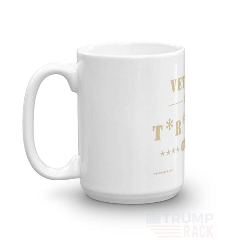 Image of Veteran's For Trump Coffee Mug-Trump Rack