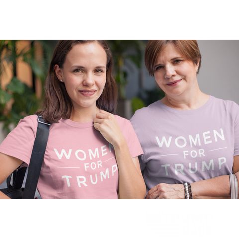 Image of Women for Trump Tee-Trump Rack