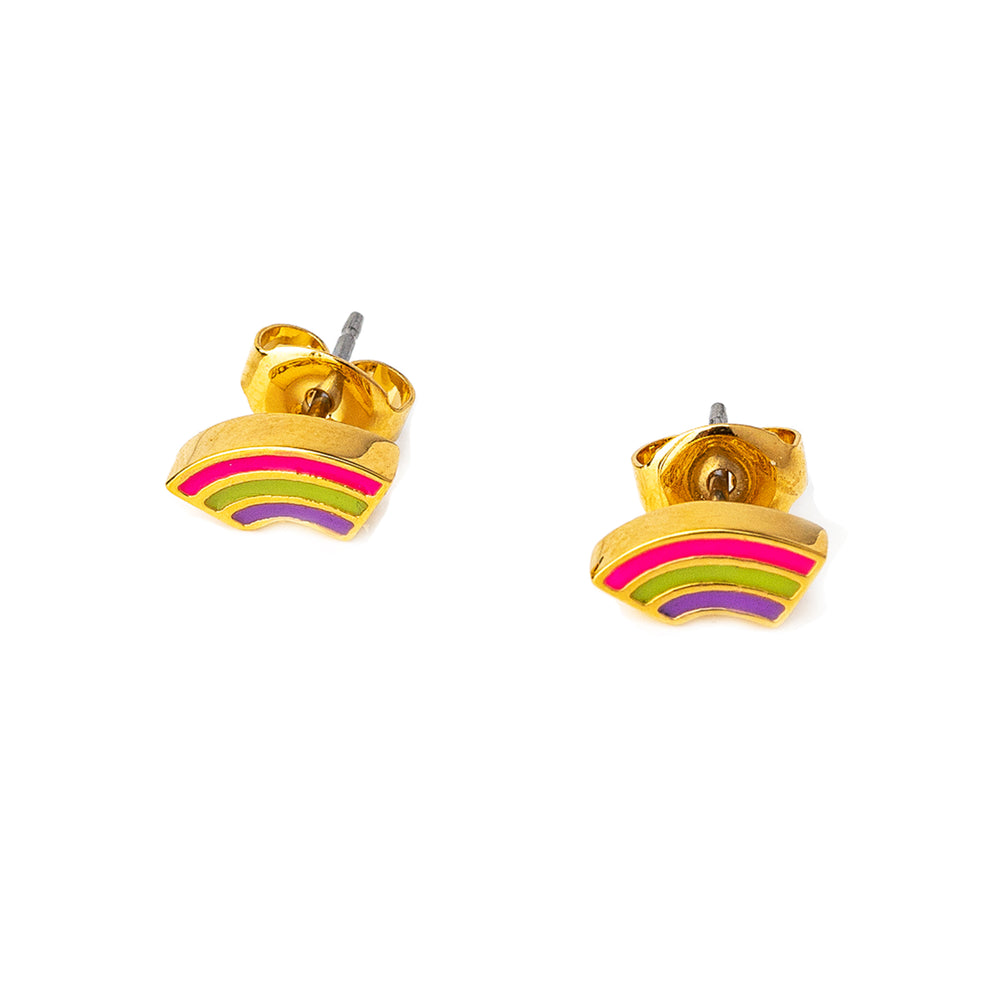 The Brooke Rainbow Studs