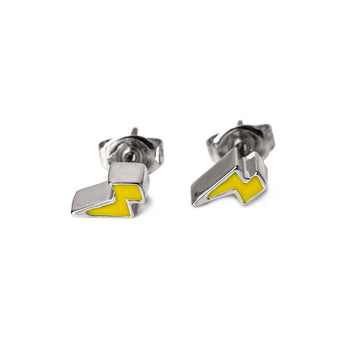 The Emme Lighting Bolt Studs