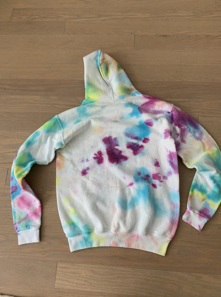 Theme Hoodie Tie Dye - Adult Something Navy